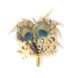 Medium Feather Brooch/Hat Pins