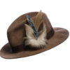 Blue Jay Chain Feather Hat Pin