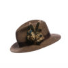 Melanistic Pheasant Feather Hat Pin
