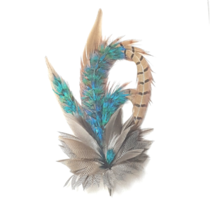 Large Feather Hat Pins