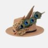 SKU LPEL16 large peacock eye layered hatpin 3